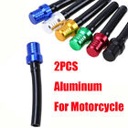 Motorcycle Gas Fuel Cap Tank Valve Vent Breather Hose Pipe for ATV PIT Dirt Bike