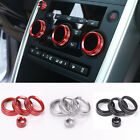 4xDashboard AC Volume Knob Button Cover For Land Rover Discovery Sport 2015-2018