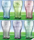 FIFA World Cup South Africa 2010 McDonald's Coca Cola Contour Coke Glass Set $37.99  on eBay