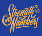 Golden State Warriors Strength in Numbers Playoffs shirt Steph Curry Durant KD on eBay