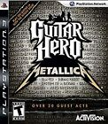 guitar hero metallica - Guitar Hero: Metallica (Sony PlayStation 3, 2009)