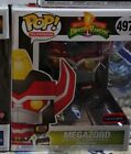 Funko Pop! Power Rangers Metallic Megazord 6? Inch AAA Anime Exclusive In Stock