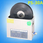 Turntable Vinyl Record Ultrasonic Cleaner Disc Media Cleaning Device Kits Washer