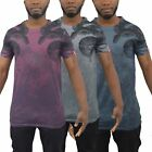 Mens T-Shirt BOA Longline Sublimated Graphic Tee Top