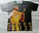 Kobe Bryant Black Mamba T Sublimated shirt los angeles lakers west basketball image