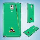 SNOOKER POOL TABLE 2 HARD CASE FOR SAMSUNG GALAXY A3/A5/A7/A8 $8.87 USD on eBay