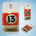SNOOKER POOL TABLE BALLS 9 CASE FOR SAMSUNG GALAXY NOTE 2 3 4 5 8 9 $8.15 USD on eBay