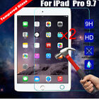 2PCS 100% Genuine Tempered Glass Tablet Screen Guard Protector For IPad Pro 9.7