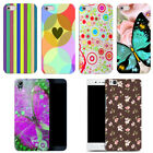 for htc desire 530 case cover hard back-happy patterns