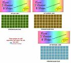 "50 - 3/4""  Vitreous Glass Mosaic Tiles  for your Mosaic Projects"