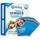 Mit Buty Natural Coconut Oi Quick Teeth Whitening Strips 28 Strips:14 Treatments