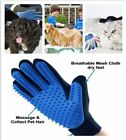 Grooming Comb Hair Dog Cat Brush Pet Massage Tool Bath Removal Cleaning Gloves