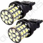 2x 3157 Pure White 60SMD Reverse Back Up Tail Brake Stop Turn LED Light Bulb