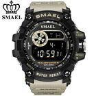 SMAEL Men Digital Watches Fashion LED Chronograph Outdoor Wristwatch Alarm Watch image