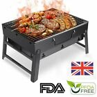 Portable Barbecue Charcoal Grill Folding Lightweight Compact BBQ Stainless Steel