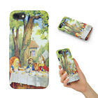 ALICE IN WONDERLAND TEA PARTY HARD PHONE CASE COVER FOR APPLE IPHONE
