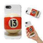 SNOOKER POOL TABLE BALLS 9 HARD PHONE CASE COVER FOR APPLE IPHONE $8.95 USD on eBay