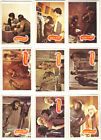 Vintage PLANET of the APES TV Show TRADING CARDS (1974) 36 CARDS!!! 1 Duplicate