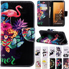 3D Pattern Magnetic PU Leather Wallet Flip Case Cover For iPhone Huawei P20 Pro