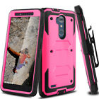 For ZTE Zmax Pro Z981/Blade X Max Z988 Hybird Stand Impact Armor Hard Case Cover