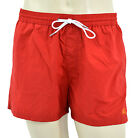 $225 BURBERRY Brit Red Lightweight Swim Shorts Trunks NEW COLLECTION