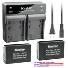 Kastar Battery Dual Rapid Charger for Canon LP-E17 LC-E17 Canon Rebel T6s Camera
