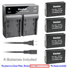 Kastar Battery Dual Rapid Charger for Canon LP-E17 LC-E17 Canon EOS 760D Camera