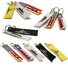 USA Flag Keychain Dont Tread on Me Come and Take It 4th of July - Many Styles