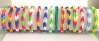 Rainbow Loom Bracelets Nation Colors CUSTOM *FREE SHIPPING*