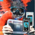 Cell Phone Case Water Proof Touch in the Water Sea Beach