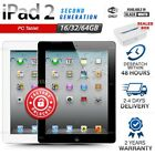 Factory Sealed APPLE iPad 2 2nd Gen Black White 16 32 64GB PC Tablet (WiFi Only)