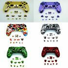Playstation 4 Replacement Controller Shell with Matching PS4 Button Mod Kit
