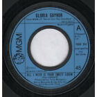 "GLORIA GAYNOR All I Need Is Your Sweet Lovin' 7"" VINYL UK Mgm 1975 Large Cen"