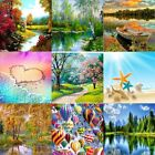 5D Diamond Painting Embroidery Cross Crafts Stitch Kit DIY Home Decor GH