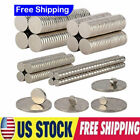 Lot 5-200pcs Super Strong N35 Round Disc Neodymium Fridge Magnets Rare Earth New