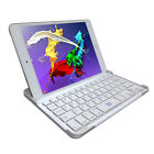 Ultra Slim Bluetooth Wireless Aluminum Keyboard Case Cover for iPad Mini MA