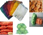 Best Net Woven Sacks With Drawstring Raschel Bags Mesh Vegetables Logs  Kindling