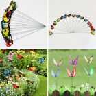 50pcs Colorful Flowerpot Garden Decoration Butterflies Ornaments Butterfly Stake
