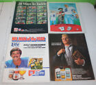 Vintage NFL Football Print Ad and Magazine Cutout Part A | You Pick $7.99 USD on eBay
