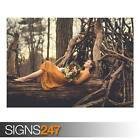 DAYDREAMING (AD975) NATURE POSTER - Photo Picture Poster Print Art A0 to A4