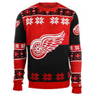 NHL Brand Youth Kids NHL DETROIT RED WINGS Ugly Sweater $14.99 USD on eBay