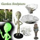 MASCARELLO GNOME Alien Sculpture Outdoor Garden Statue Decor Yard Sculpture