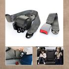 For RENAULT 2 Set Car Truck 3 Point Safety Retractable Seat Belt Strap Beige
