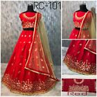 Designer Indian PartyWear Lehenga Lengha Choli Pakistani Wedding salwar suit RC