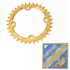 Deckas Bike Narrow Wide Chainring 104BCD 32T/34T/36T/38T Single Round Oval Disc