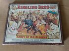 RINGLING BROS World's Greatest Shows ARMY Of 50 CLOWNS Print (1910) On Cork NEW