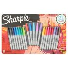 Fine Point Permanent Marker Writing Pen School Office Assorted Colors Pack 21