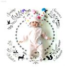 3180C5D Baby Bedding Blanket Baby The Clock Blanket Soft Cotton Newborns Infant