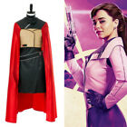 Solo: A Star Wars Story Qi'ra Dres uniform Cosplay Costume Halloween Cape Outfit