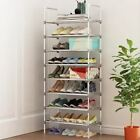 Shoe Rack Handrail Galvanized Steel Pipe Cabinet Organizer Storage Home Furnitur